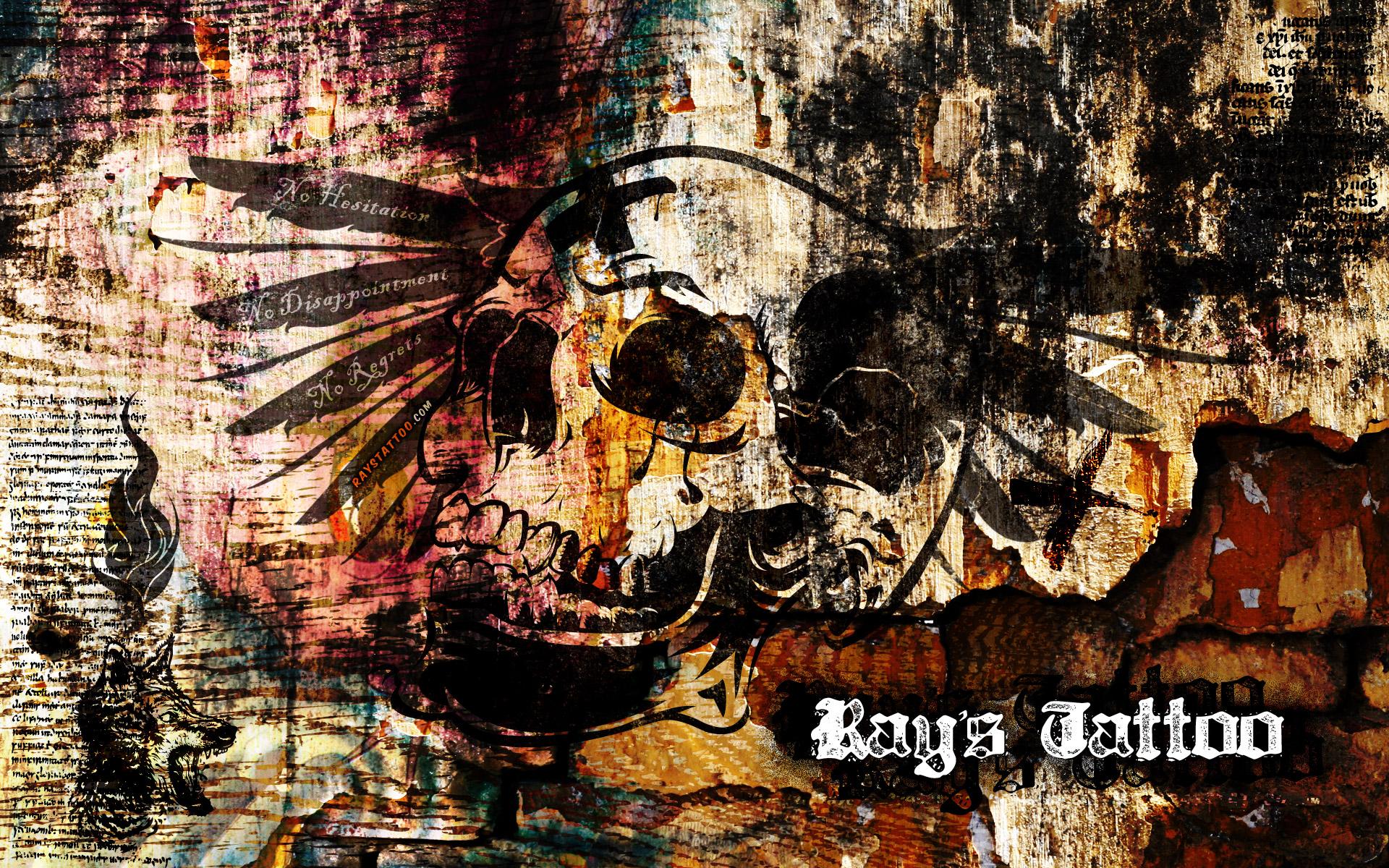 free download � ray�s tattoo wallpaper